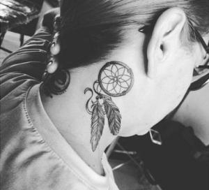 Traumfänger Tattoos Dreamcatchersat